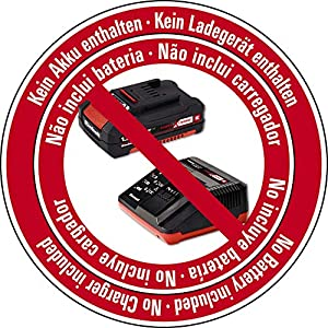 Einhell Akku-Heckenschere ARCURRA Power X-Change (Li-Ion, 18 V, 55 cm Schnittlänge, 18 mm Zahnabstand, Schnittgutsammler, ohne Akku und Ladegerät)