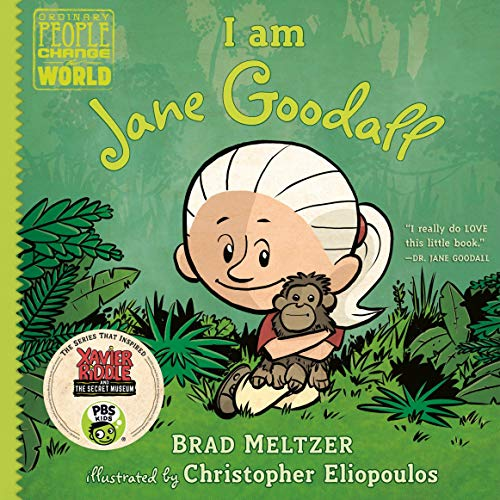 I Am Jane Goodall cover art