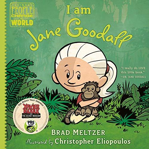 Page de couverture de I Am Jane Goodall