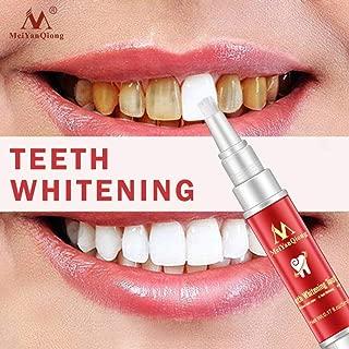 YJYdada Teeth Whitening Gel Pen Quick Remove Stain Yellow Teeth Whitening White Pen