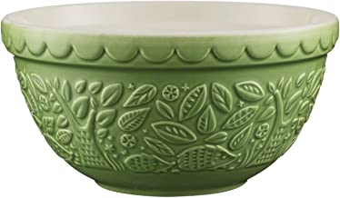 Mason Cash in The Forest Hedgehog Green Earthenware Mixing Bowl, 21cm, Green 28450