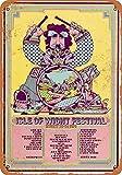 Carlena 1970 Isle of Wight Festival 2 Blechschild,