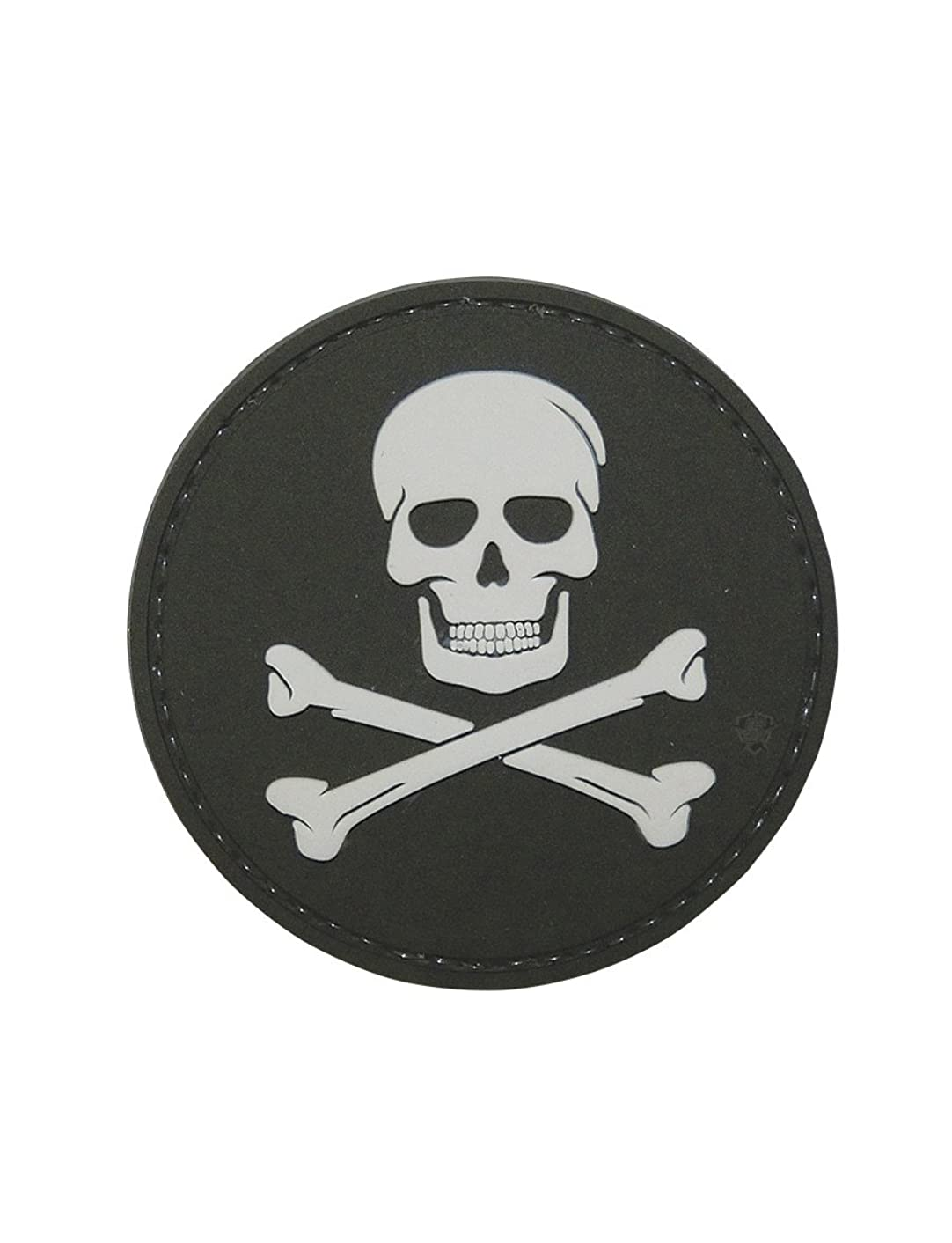 5ive Star Gear Jolly Roger Morale Patch, Multi-Color, One Size