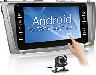 $149 » NHOPEEW Anddroid Car Stereo Fit for Toyota Camry Aurion 2007 2008 2009 2010 2011, 8 Inch Touchscreen Double Din Radio with...
