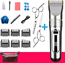YOYOHOT Tondeuse à cheveux électrique pour homme rechargeable par USB, étanche et réduction du bruit