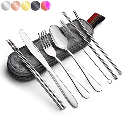 Portable-utensils-silverware-flatware-set