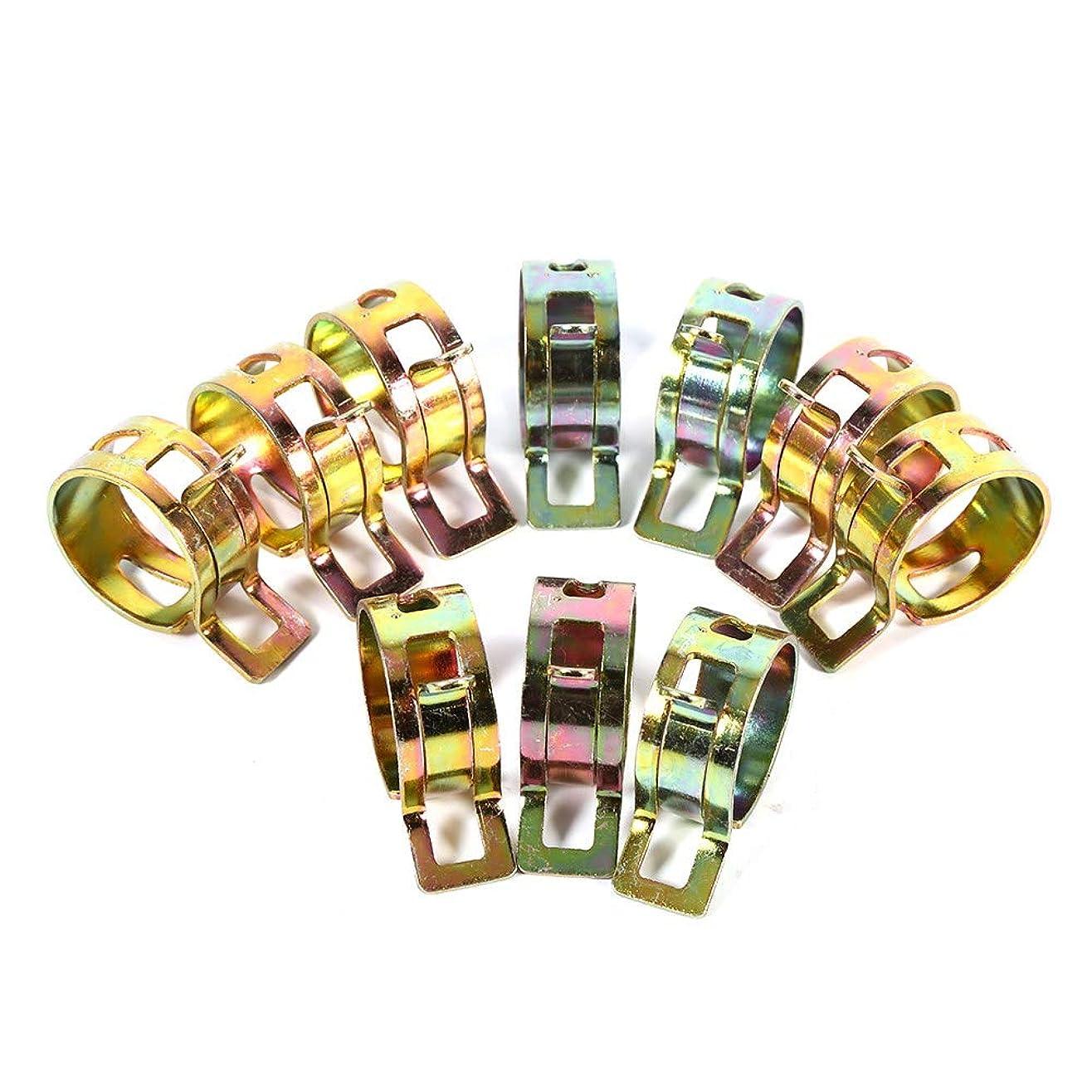 エキスパート歯痛浸漬【100個入】ピース スプリングスチール バンド型 耐久性 燃料ホース クリップ シリコーン パイプクランプ