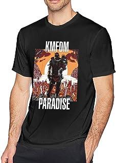 KMFDM Paradise T Shirt Men's Short Sleeves Round Neck Cotton Tees