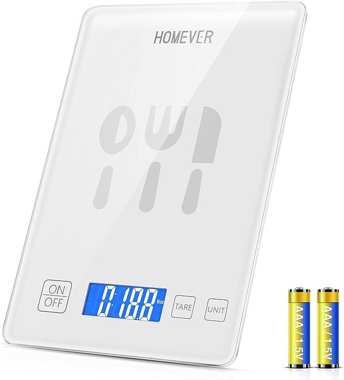 752 opinioni per Bilancia da Cucina, Homever 15kg/33lbs Bilancia Cucina Digitale Alta Precisione