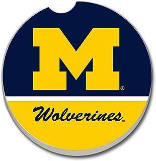 NCAA Michigan Wolverines Absorbent Car Coaster