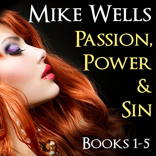 Passion, Power and Sin audiobook cover art
