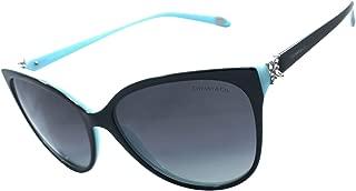Tf4089b 100% Authentic Limited Edition Women's Polarized Sunglasses Black / Blue 8055/t3