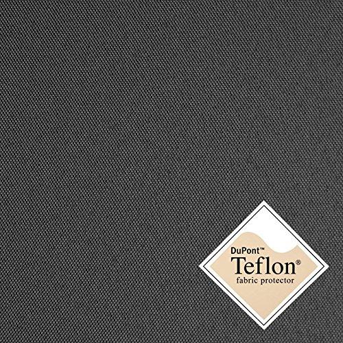 (8,49€/m) Breaker Teflon - Tela Repelente al Agua - A Prueba de Viento - Muy Robusta (Color Antracita) (por Metro)