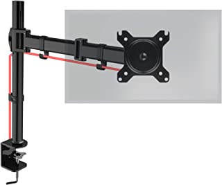 Duronic DM251X3 Soporte para Monitor de 13 a 27 Pulgadas 8Kg máx - Altura Ajustable Giratorio inclinable Brazo Extens...