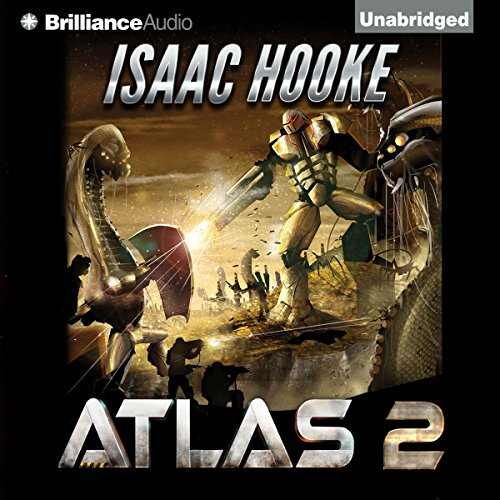 ATLAS 2 audiobook cover art