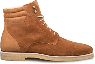 Mezlan Andria - Mens Luxury Contemporary Suede Boot - Weather Resistant Suede Boot on Crepe Sole - Handcrafted in Spain - ...