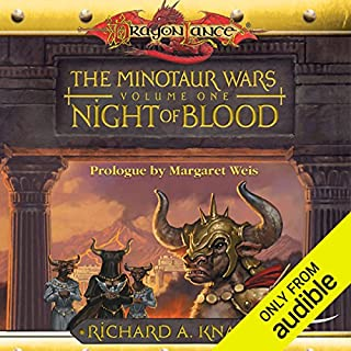 Night of Blood audiobook cover art