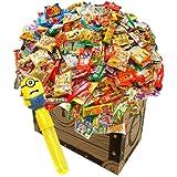 駄菓子詰め合わせお楽しみ50種55点セット!+おまけおもちゃ付き お誕生日 イベントやパーティーにもどうぞ。子どもたちがデコって遊べるわくわく駄菓子【あひるSHOP限定】