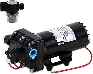 Shurflo 5059-1310-D011 Automatic-Demand 12V Diaphragm Pump with Shurflo 255-313 Strainer (Bundle, 2 Items)