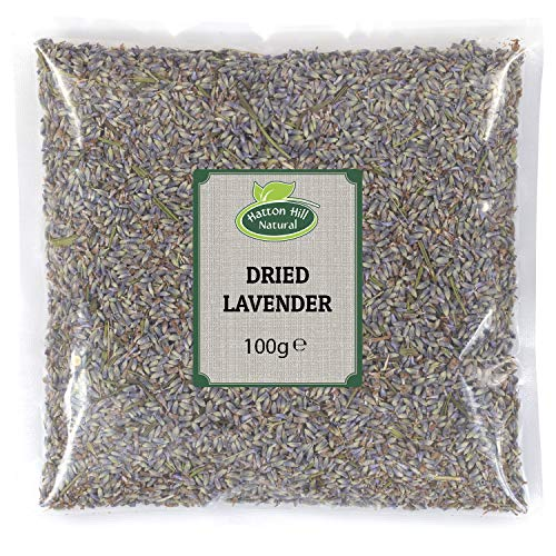 Getrockneter Lavendel, Premium Qualität 100g von Hatton Hill