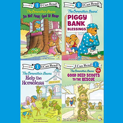 The Berenstain Bears I Can Read Collection 1 cover art