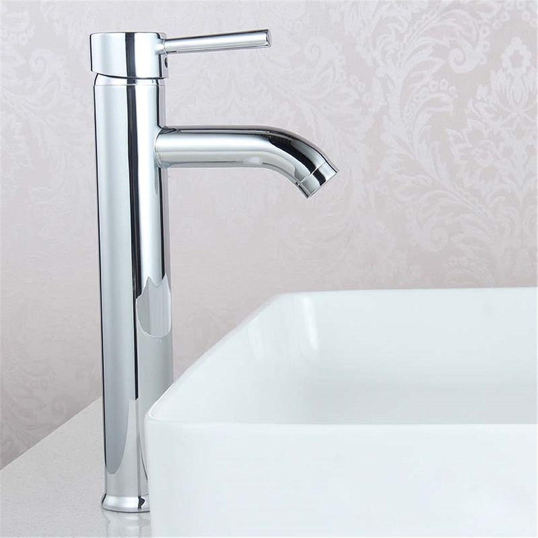 NewBorn Faucet Küche Oder Badezimmer Waschbecken Mischbatterie auf der Kupferoberflche Becken Hoch, heiem und kaltem Wasser tippt auf die Wanne Basintaps Plain