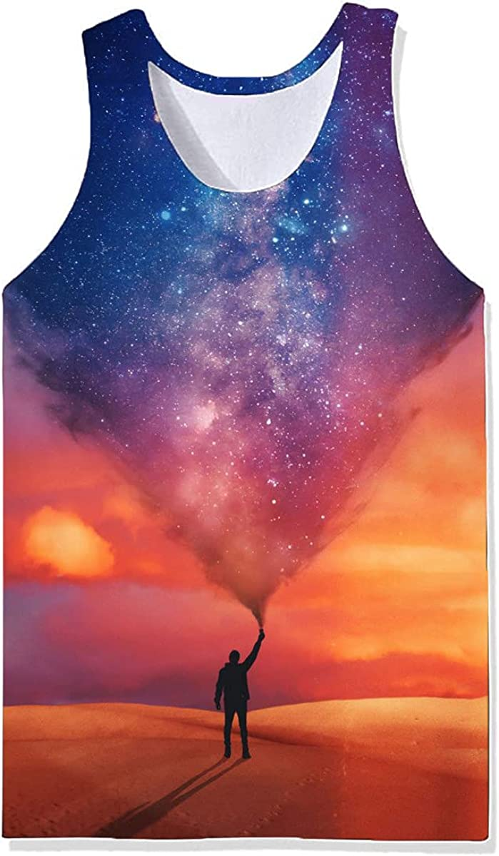 Damela Boy 3D Magical Printed Pullover Challenge the lowest price Year-end annual account of Japan Journey Vest