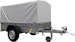 Diepflader Garden Trailer 200 KIPP 200 x 106 cm, 750 kg [met hoge spot, hoog dekzeil en steunwiel]