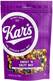 Kar's Nuts Sweet 'N Salty Trail Mix Snacks - 25 oz Resealable Pouch (Pack of 8)