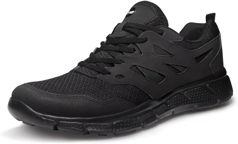 TSLA TF-X710-BKO_Men 9.5 D(M) Men's Lightweight Sports X Series Running shoes X710 (True to Size)