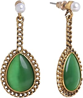 Fashion Drop Teardrop Earrings Dangle Victorian Jewelry