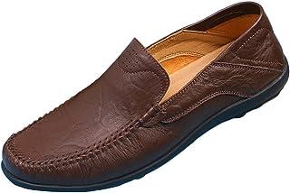 SK Studio heren Mocassin Leer Loafer Slipper rijden vrijetijdsschoenen handgemaakt Mocassins bootschoenen 37-47 EU grote maat