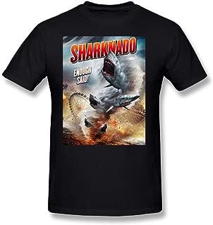 Tongda Men's Sharknado Enough Said T-shirt XXL Black