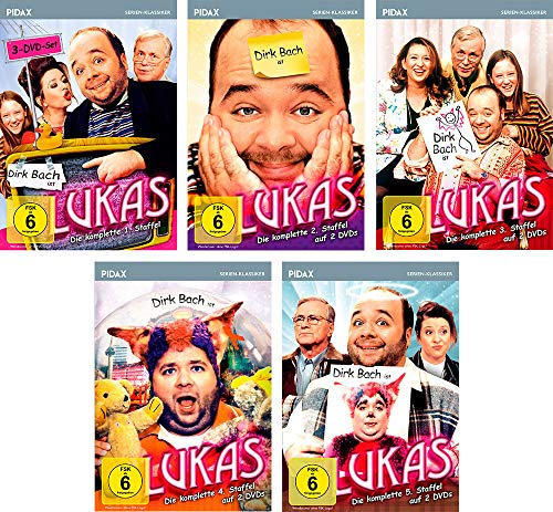 Lukas - Gesamtedition / Die komplette Serie auf 11 DVDs (Pidax Serien-Klassiker)