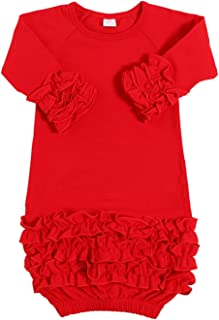 baby ruffle gown