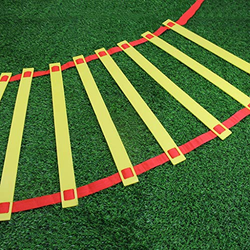 Xin Speed ​​ Agility Ladder Trainingladder voor voetbal Speed ​​​ Basketbal Football Fitness Feet Training met draagtas oefensport Football Agility Ladder