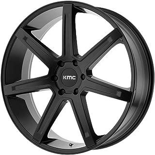 KMC KM700 REVERT Satin Black Wheel Chromium (hexavalent compounds) (24 x 9.5 inches /5 x 78 mm, 15 mm Offset)
