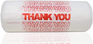 Red Thank You Plastic t-Shirt Bags – 308 pcs/case.
