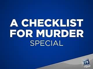 A Checklist For Murder Season 1