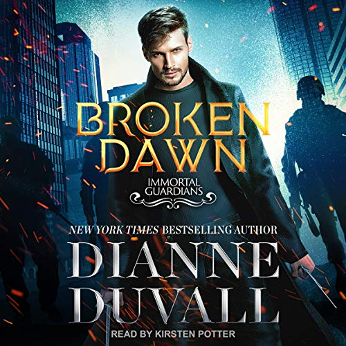 Broken Dawn audiobook cover art