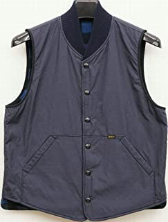 (ダブルアールエル) RRL バッファローチェック リバーシブル ベスト メンズ Reversible Vest 並行輸入品 [並行輸入品]