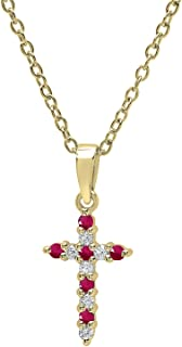 Best ruby and diamond cross Reviews