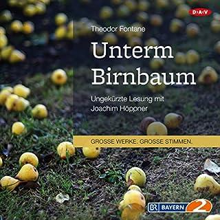 Unterm Birnbaum                   Autor:                                                                                                                                 Theodor Fontane                               Sprecher:                                                                                                                                 Joachim Höppner                      Spieldauer: 4 Std. und 14 Min.     39 Bewertungen     Gesamt 4,4