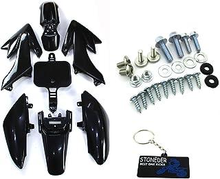 Bianco GOZAR Parafango Anteriore Universale Moto per KTM Honda Yamaha Kawasaki Suzuki