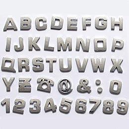 Best emblem letters for cars