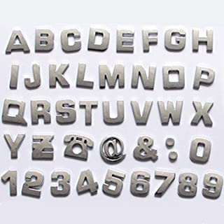 Best small chrome letters Reviews