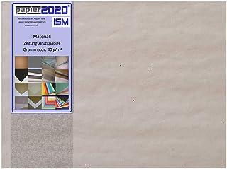 1kg, 360 Stück Einschlagpapier Stopfpapier, 40g/m² 210 x 297mm