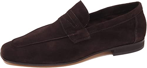 Antica Cuoieria F1776 Mocassino hommes Dark marron chaussures Loafer chaussures Man