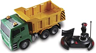 Kid Galaxy Mega Construction Remote Control Dump Truck. 7 Function RC Earth Mover, 27 MHz