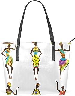 FANTAZIO Handtasche Schultertasche Afrikanische Damen Schultertasche
